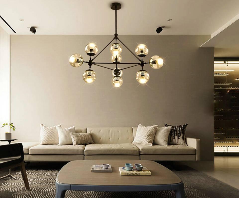 Ưu điểm về giá của đèn trang trí phòng khách